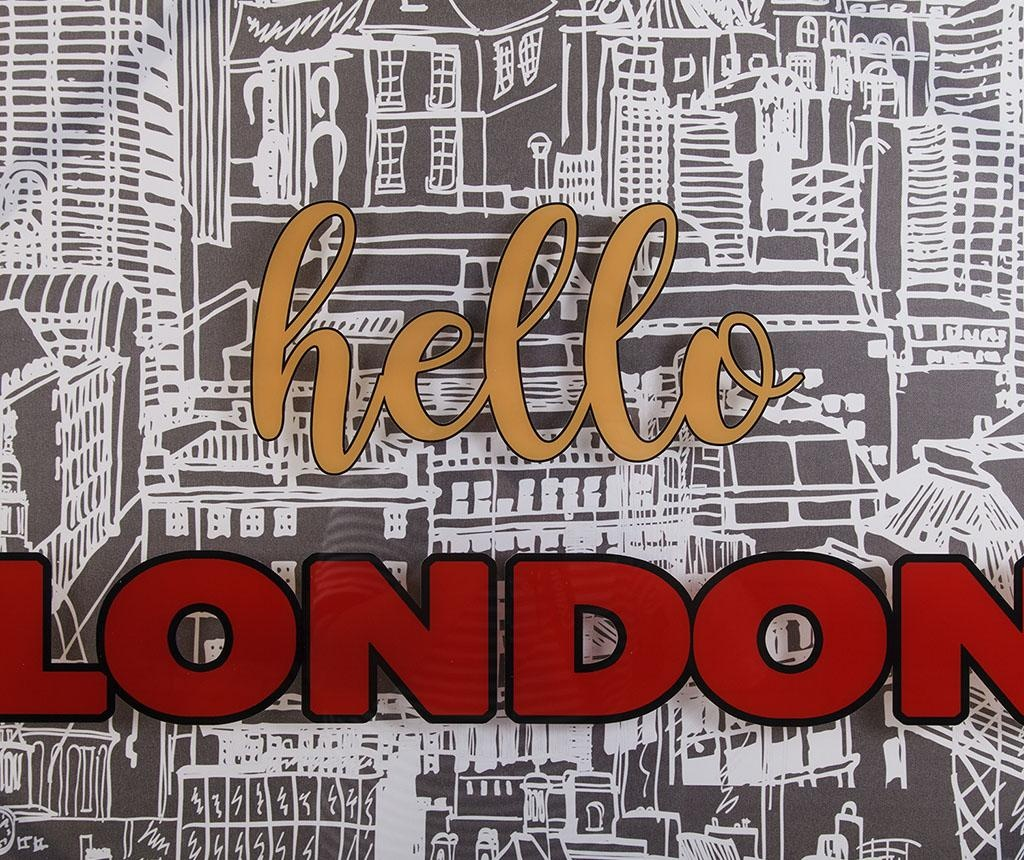 Slika Hello London 80x80 cm
