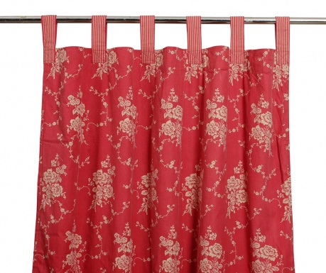 Zastor Margot Red 150x270 cm