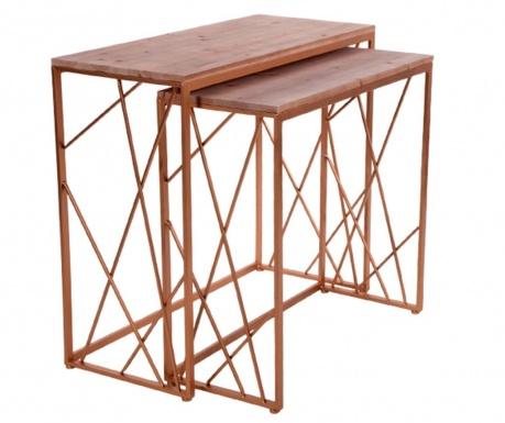 Set 2 konzolnih miz Matthias