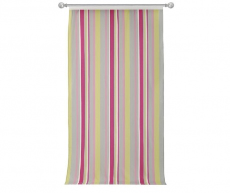 Κουρτίνα Stripes Pink Grey 140x270 cm