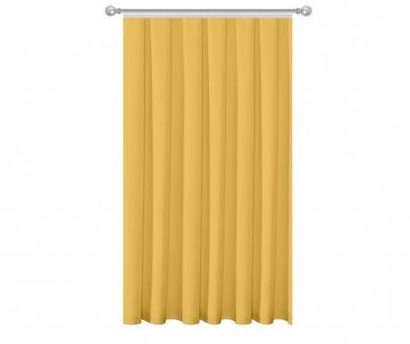 Draperie Plain Yellow 140x270 cm