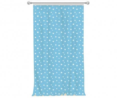 Draperie Stars Light Blue 140x270 cm