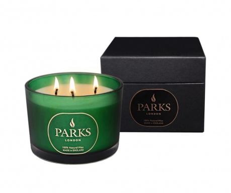 Lumanare parfumata cu 3 fitiluri Parks Moods Cedar & Patchouli