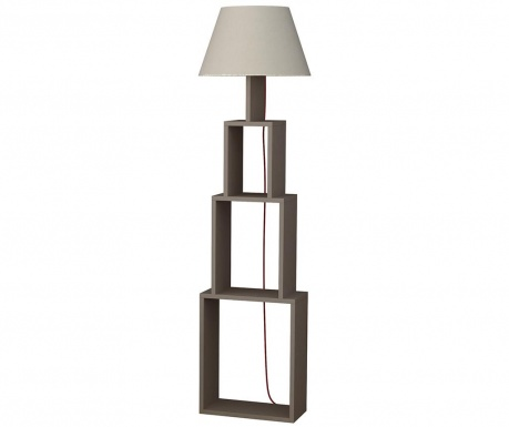 Podlahová lampa Tower Light Mocha and Beige