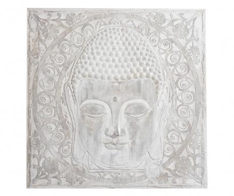 Zidni ukras Buddla Head 100x100 cm
