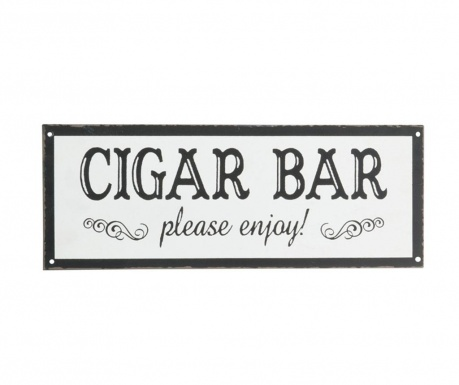 Nástenná dekorácia Cigar Bar