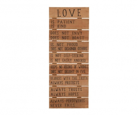 Zidni ukras Definition of Love