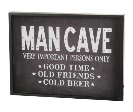 Svjetleći zidni ukras Man Cave