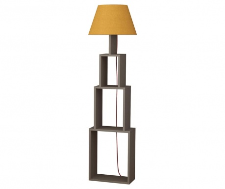 Podlahová lampa Tower  Light Mocha Yellow