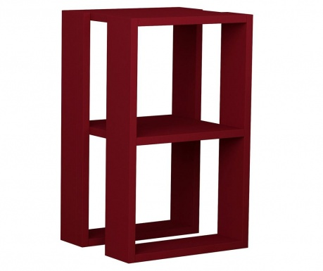 Нощно шкафче Lonie  Claret Red