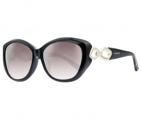 Swarovski Rectangular Black Női napszemüveg