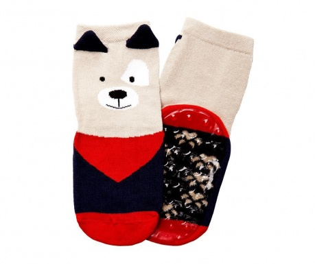 Чорапи с нехлъзгаща се подметка Dogster