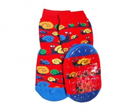 Čarape sa protukliznim potplatom Happy Snails
