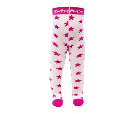 Hlačne nogavice Sky Stars Pink