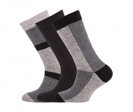Комплект 3 чифта чорапи Shader