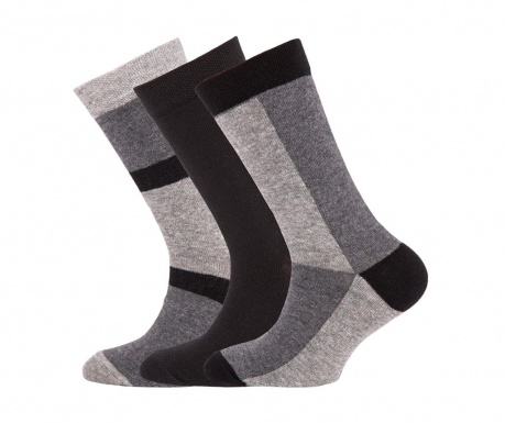 Set 3 para čarapa Shader