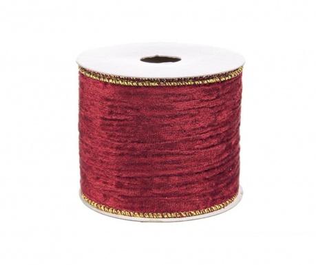 Ribbon Ruby Gold Dekoratív szalag