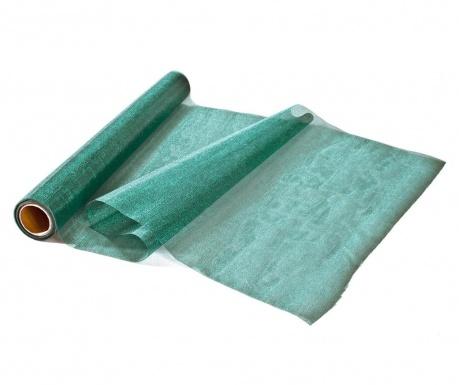 Organza Green Dekoratív textil tekercs