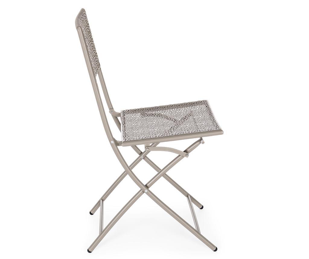 Сгъваем стол за екстериор Kennen Taupe