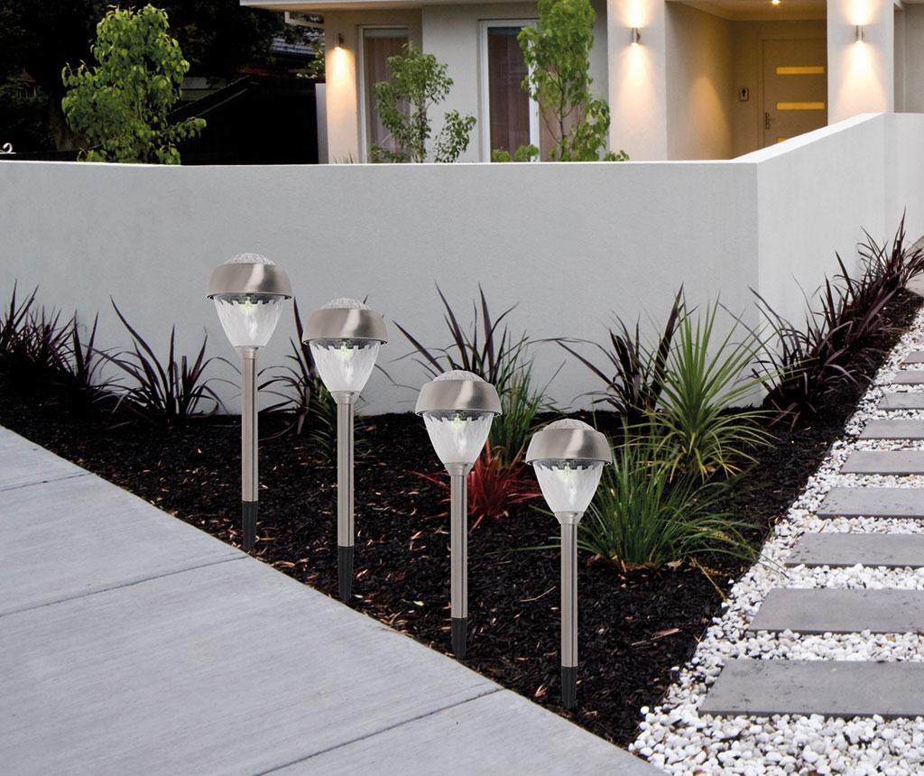 Set 4 solarne svjetiljke Linden