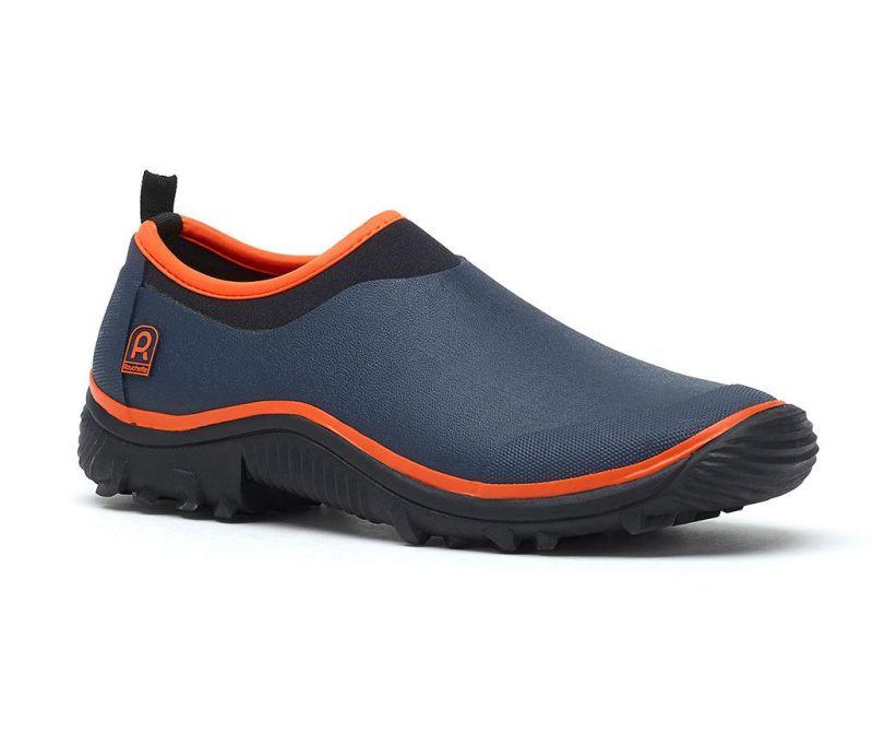 Pantofi sport dama Trial Navy Blue and Orange 37