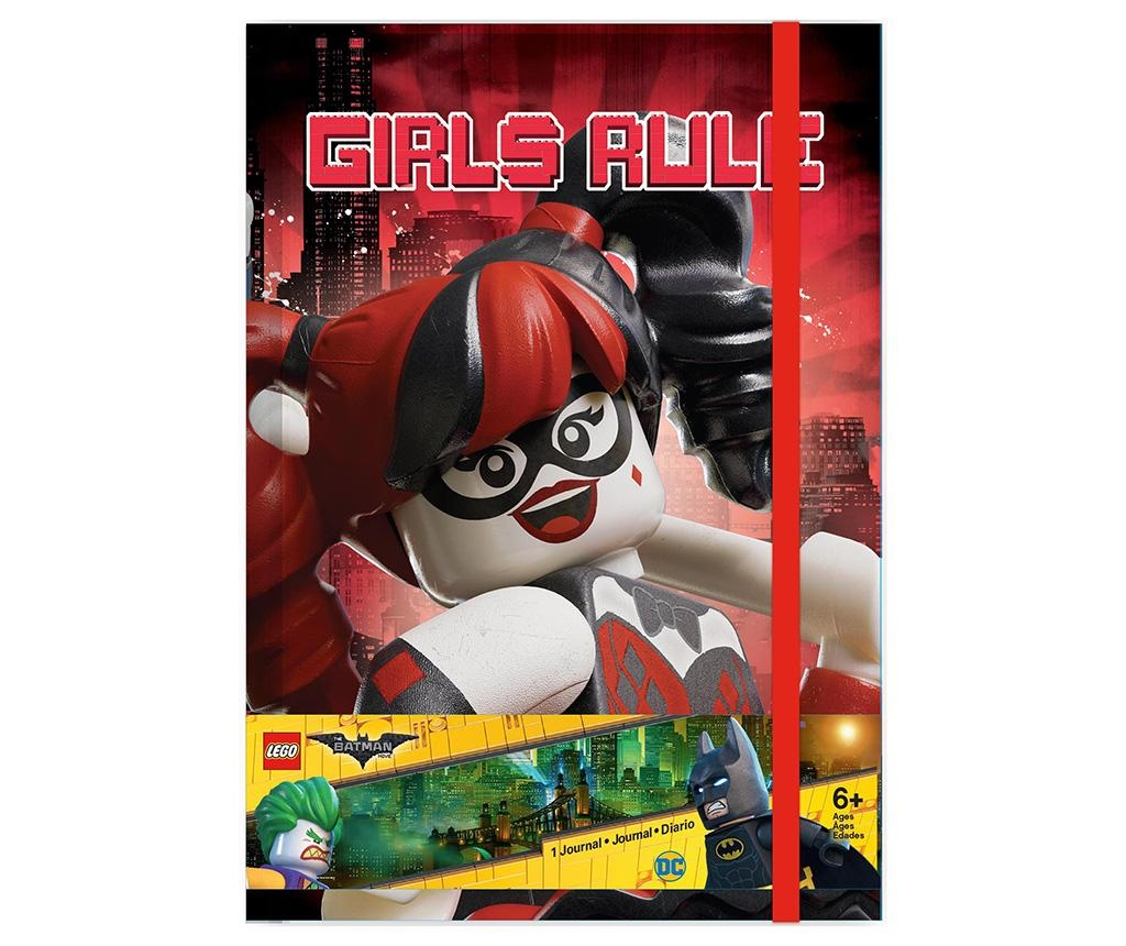 Lego Batman Movie Harley Quinn Határidőnapló A5