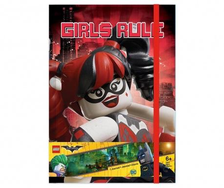 Kalendarz książkowy Lego Batman Movie Harley Quinn A5