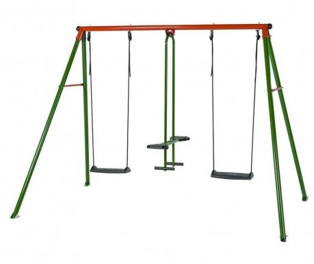 Leagan 3 locuri copii Can-Can Classic Green