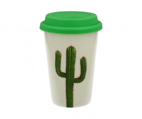 Potovalna skodelica Cactus 380 ml