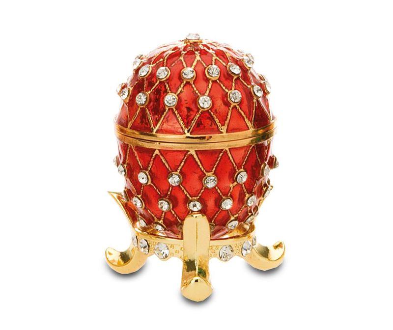 Cutie decorativa Crown Red