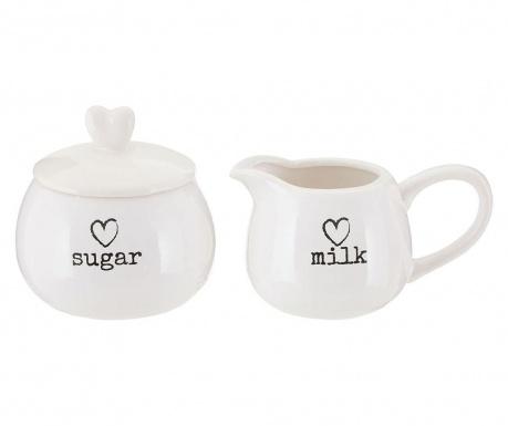 Mliečnik a cukornička svekom Charm
