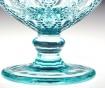 Set 2 cupe pentru desert Fleur Blue 250 ml
