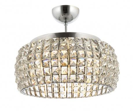 Závěsná lampa Afonso Chrome
