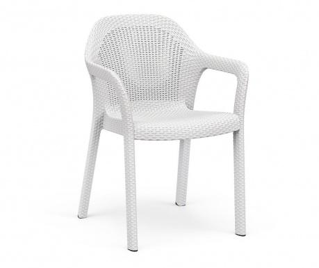 Vrtni stol Carver White