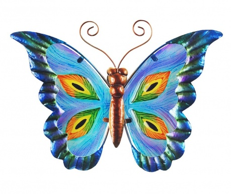 Zidni ukras Colored Butterfly Up
