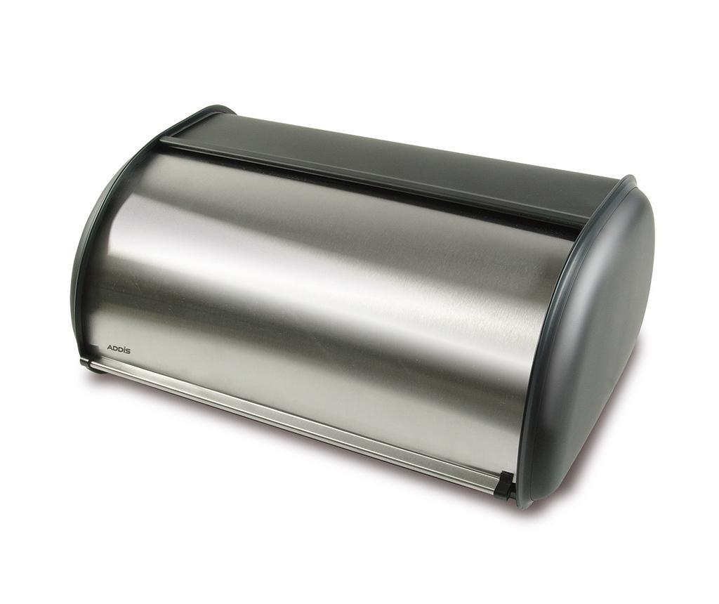 Cutie pentru paine Bready Silver - ADDIS, Gri & Argintiu
