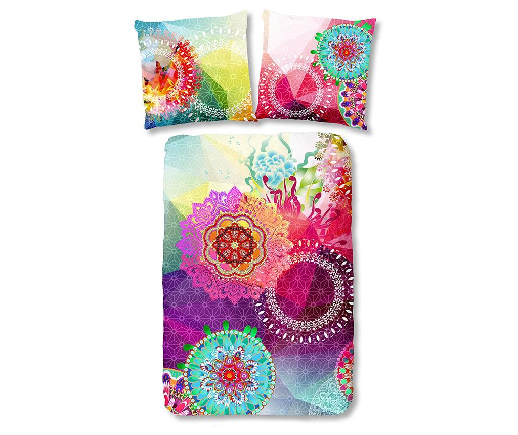 Set de pat Single Satin Esplanada - hip, Multicolor