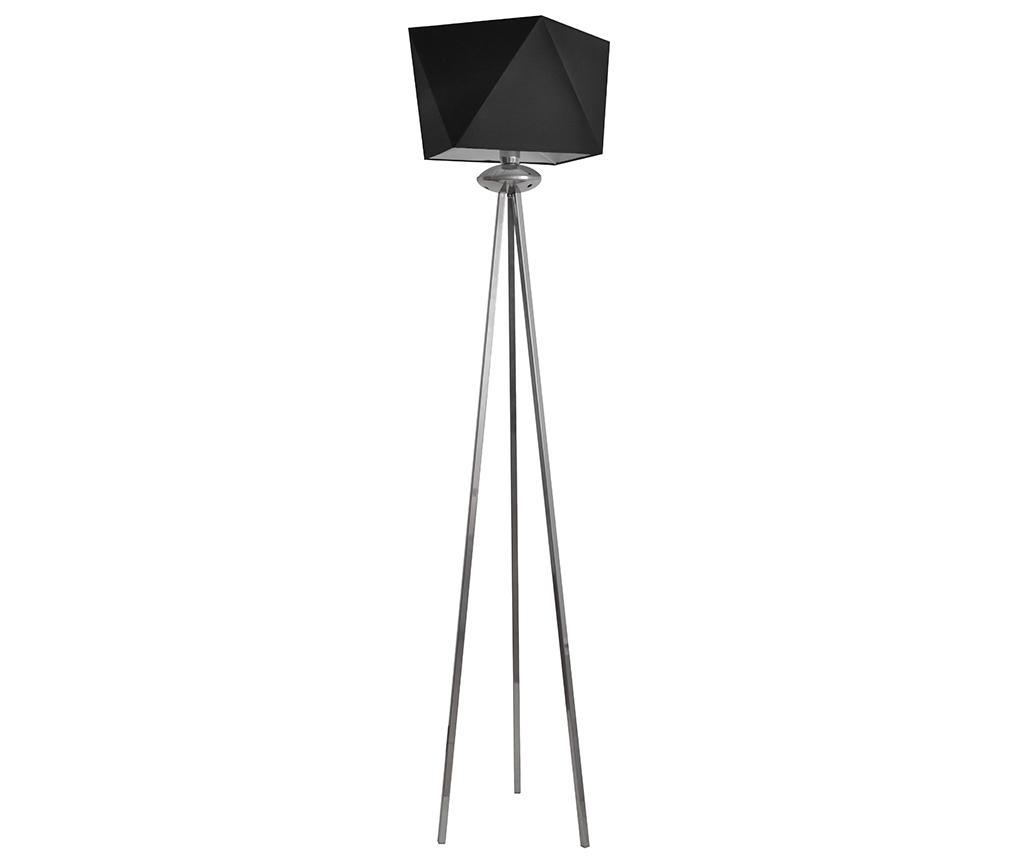Lampadar Adamant Black - Helam, Negru