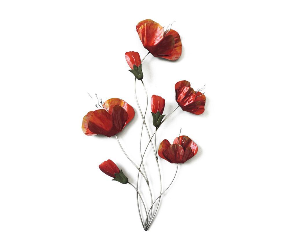 Decoratiune De Perete Beaux Arts Red Poppies
