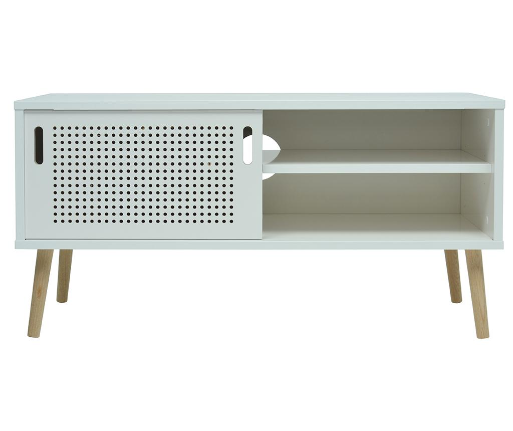 Comoda TV Tressi White - More Design, Alb