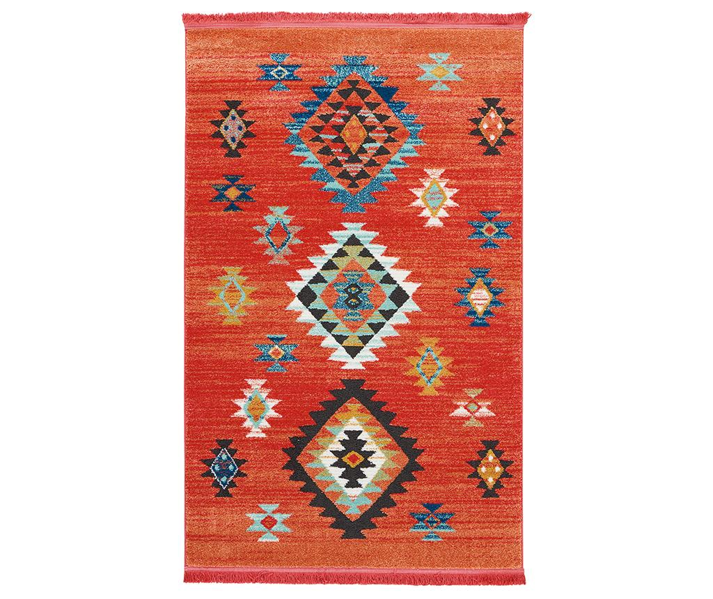 Covor Navajo Red Rosu Multicolor