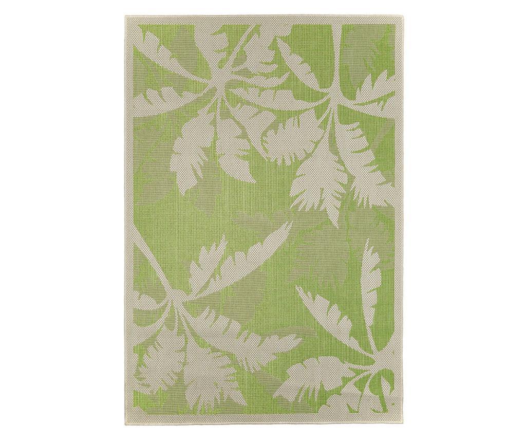 Covor Palms Green 135x190 Cm - Floorita, Verde