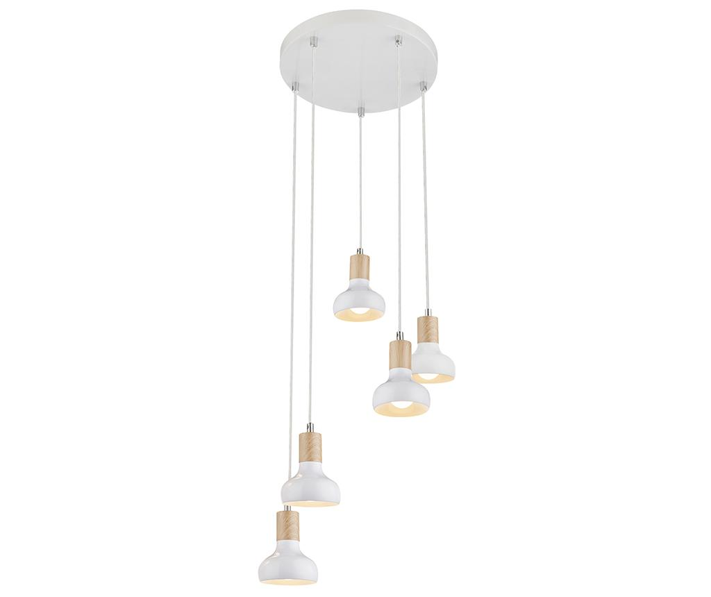 Lustra Puerto White Long Five - Candellux Lighting, Alb