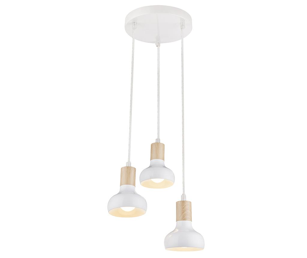 Lustra Puerto White Long Three - Candellux Lighting, Alb
