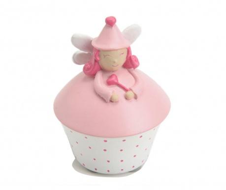 Krabice s víkem na zoubky Fairy Light Pink