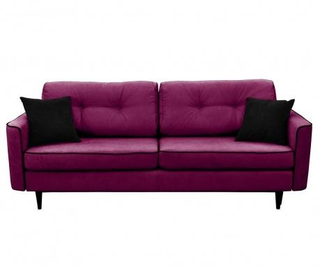 Kauč trosjed na razvlačenje Magnolia Violet
