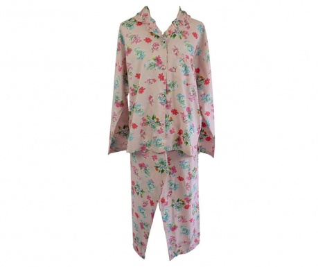 4a94427bc Dámske pyžamo Sleeve Pink Floral L - Vivrehome.sk