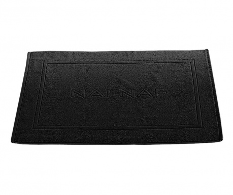 Předložka do koupelny Casual Black 50x80 cm