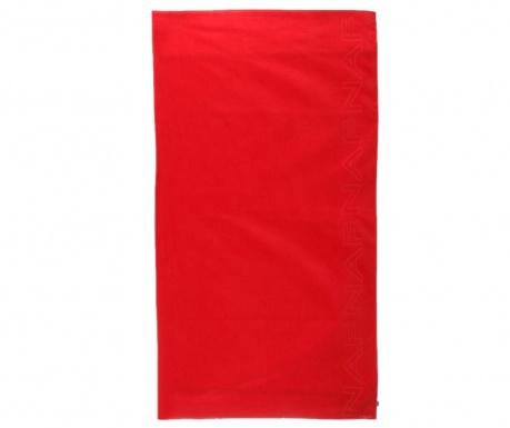 Plážová osuška Casual Red 90x180 cm