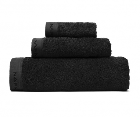 Set 3 prosoape de baie Casual Black